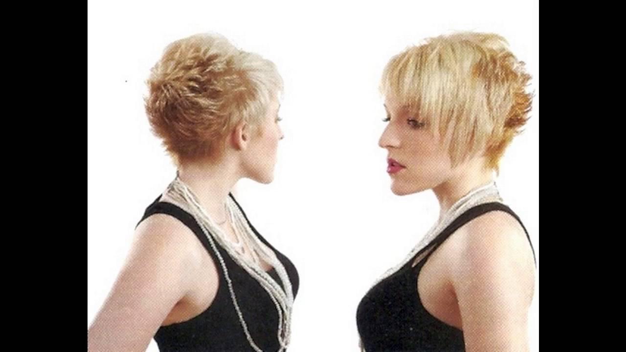 Shaggy Pixie Cut Makes Women Look Cute For Thin Hair Women – Youtube With Regard To Cute Shaggy Short Haircuts (View 21 of 25)