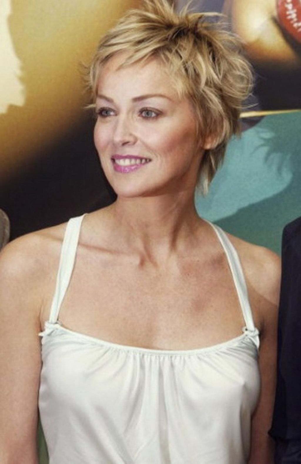 Sharon Stone 2015 – Google Zoeken | Short Hair For Women In 2018 With Sharon Stone Short Haircuts (View 18 of 25)