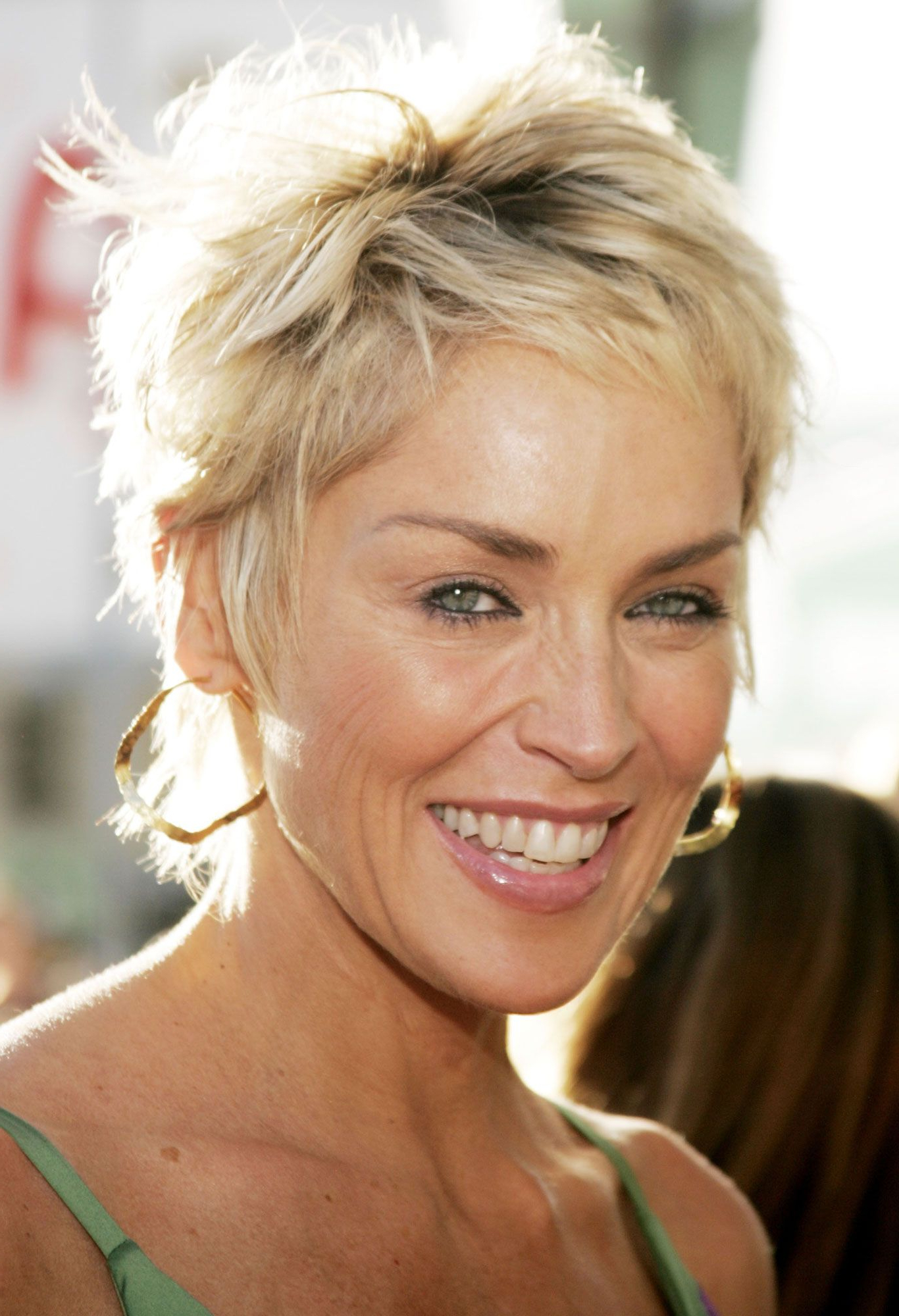 Sharon Stone Short Hair – Google Search | Hairstyles | Pinterest Intended For Sharon Stone Short Haircuts (View 5 of 25)