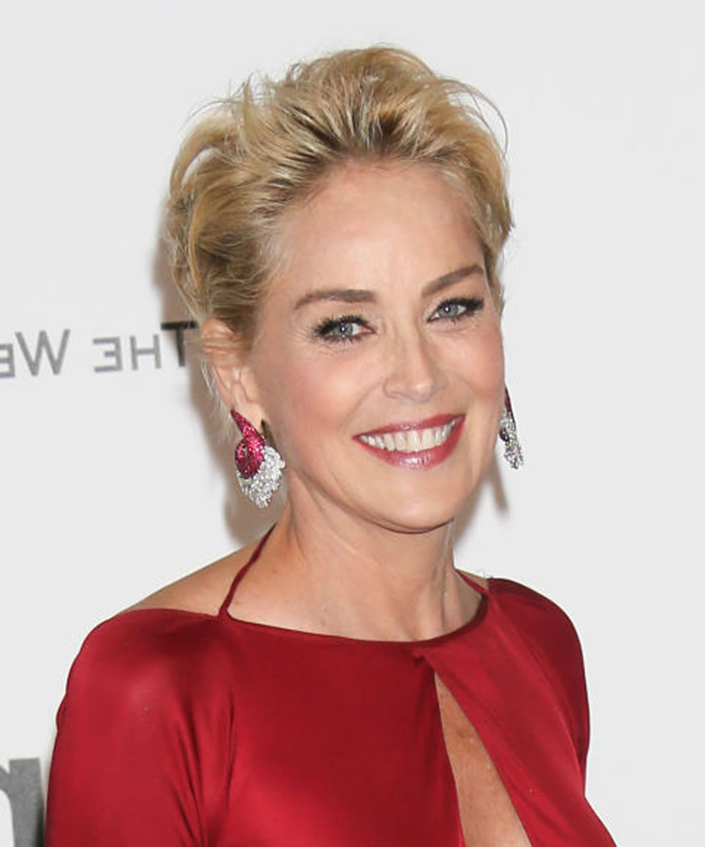 Sharon Stone Short Hairstyles Over 50 For 2018 2019 – Hairstyles Pertaining To Sharon Stone Short Haircuts (View 6 of 25)
