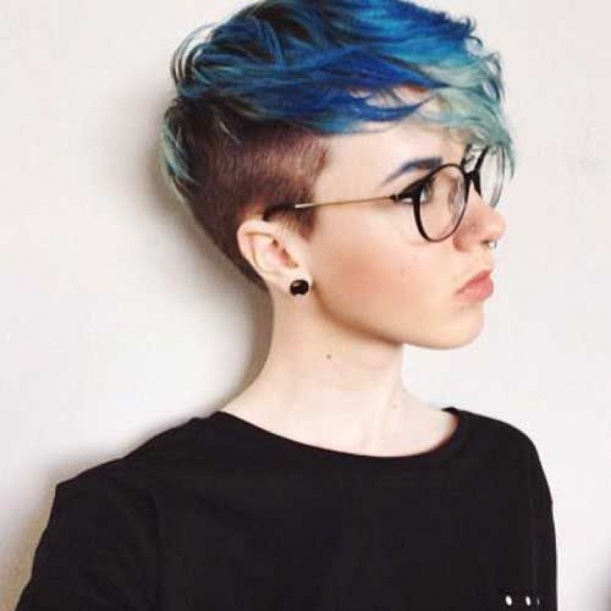 Shaved Side Hairstyle   Latest Hairstyles And Haircuts For Women And Men Inside Shaved Side Short Hairstyles (View 4 of 25)