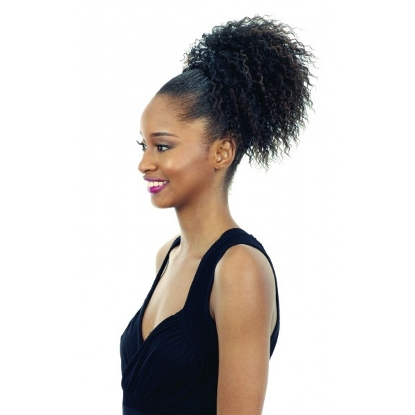 Shop Drawstring Ponytails & Hair Buns – Ponytail Extensions At Regarding Sculpted And Constructed Black Ponytail Hairstyles (View 21 of 25)