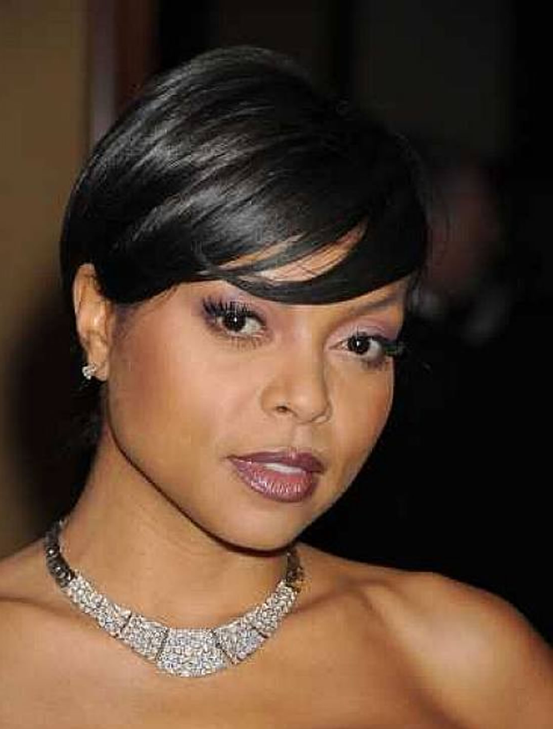 Short African American Hairstyles For Round Faces 2018 2019 – Page 2 With Short Hairstyles For Round Faces African American (View 19 of 25)
