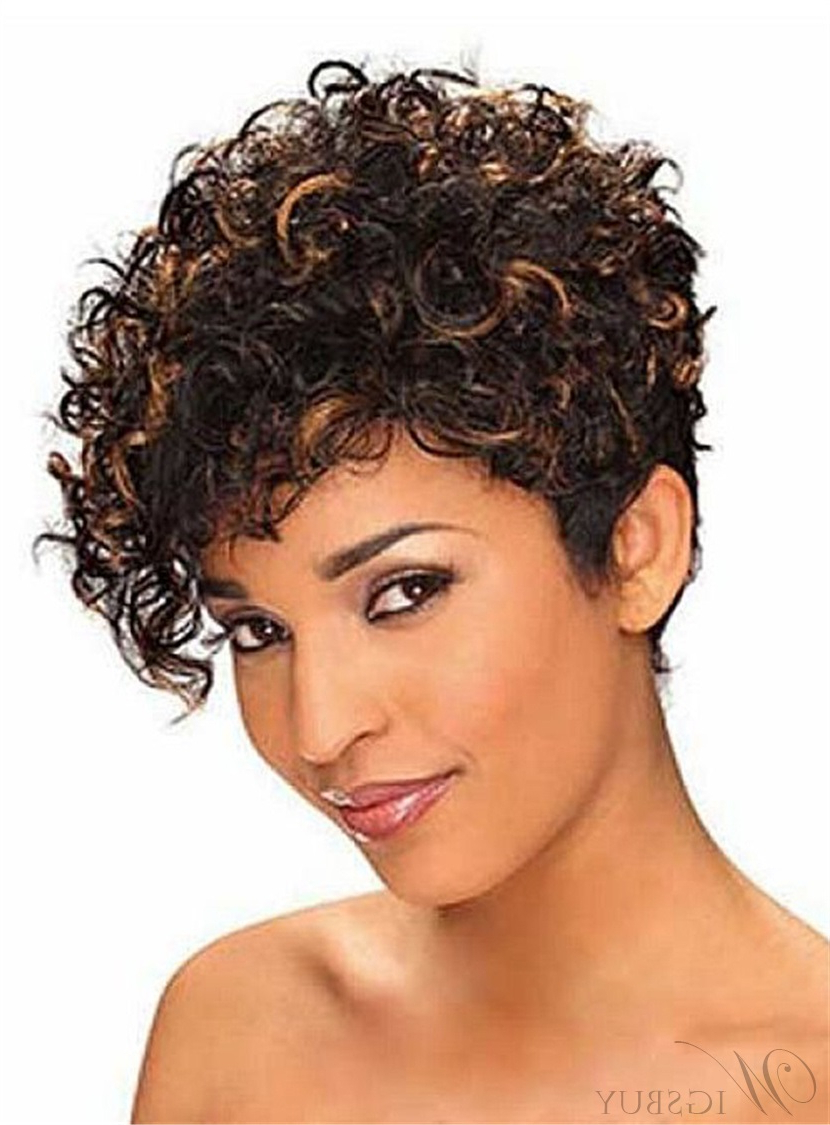 Short African American Wigs For Women On Sale:wigsbuy Intended For Curly Short Hairstyles For Black Women (View 19 of 25)