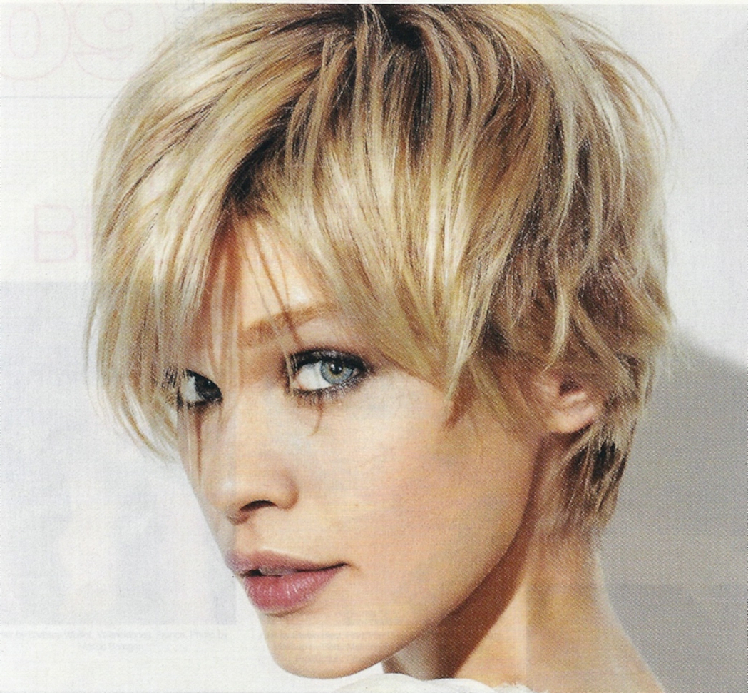 Short And Messy Hairstyles Short Hairstyles Messy – Hairstyle For Regarding Messy Short Haircuts For Women (View 21 of 25)
