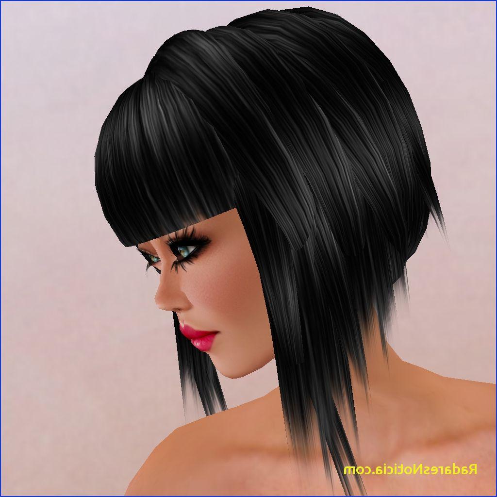 Short Back Long Front Haircuts Short Hairstyles With Long Front With Short Haircuts With Longer Bangs (View 21 of 25)
