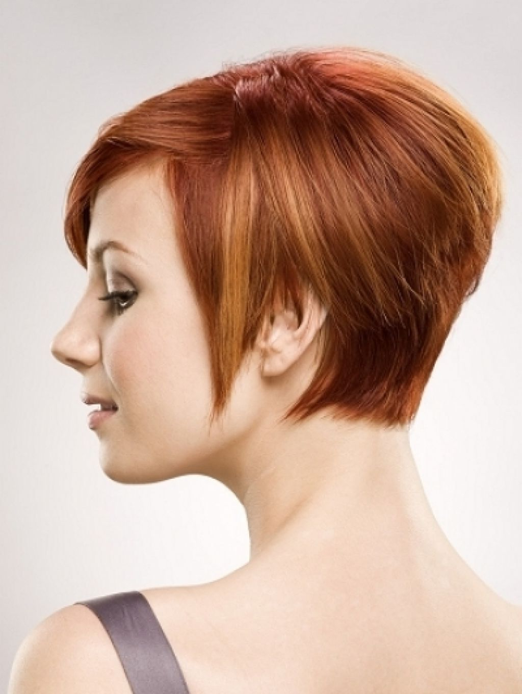Short Black Hair With Red Highlights – Hairstyle For Women & Man Intended For Short Haircuts With Red And Blonde Highlights (View 10 of 25)
