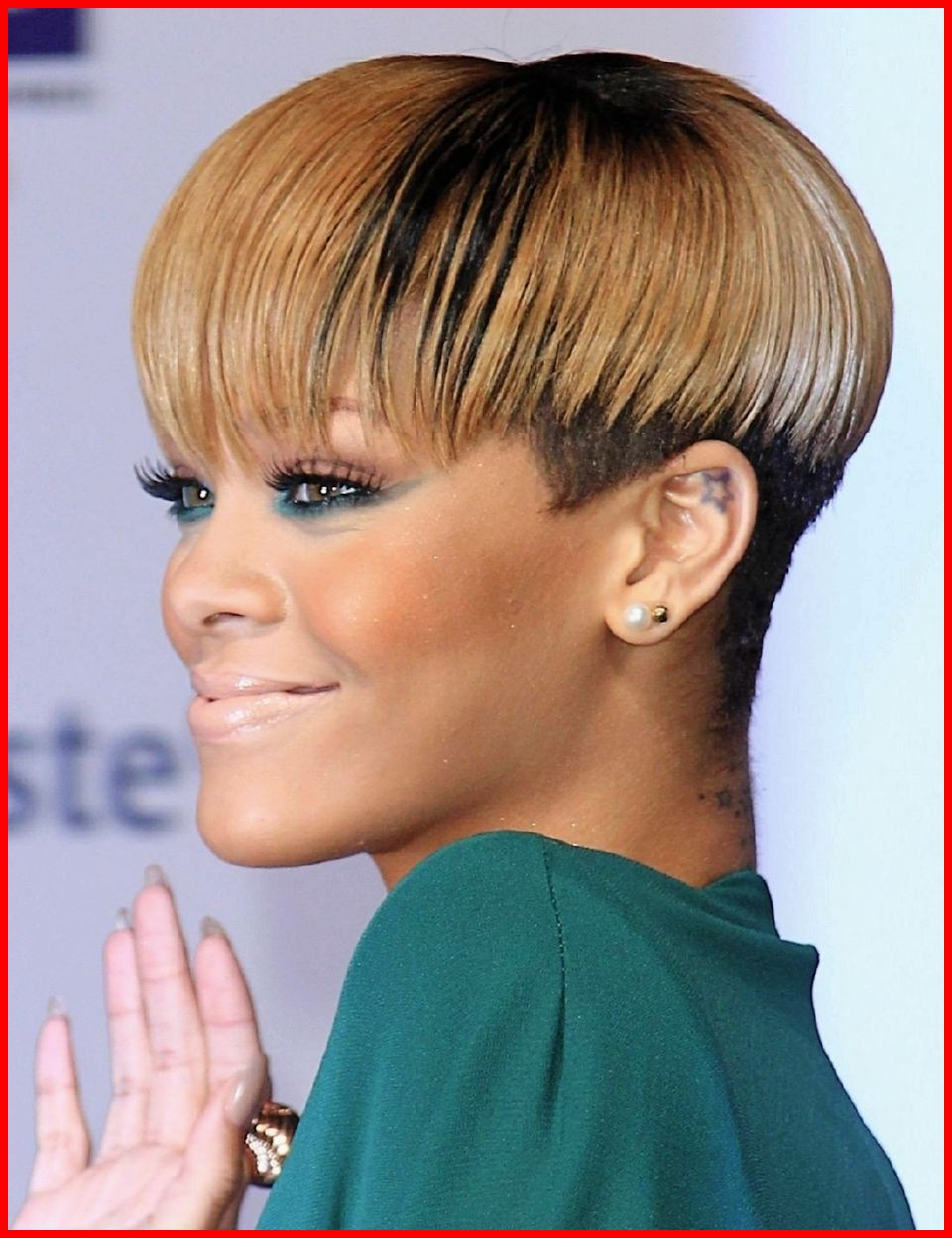 Short Black Hairstyles With Shaved Sides 11612 Black Celebrity Short For Short Haircuts With Shaved Sides (View 14 of 25)