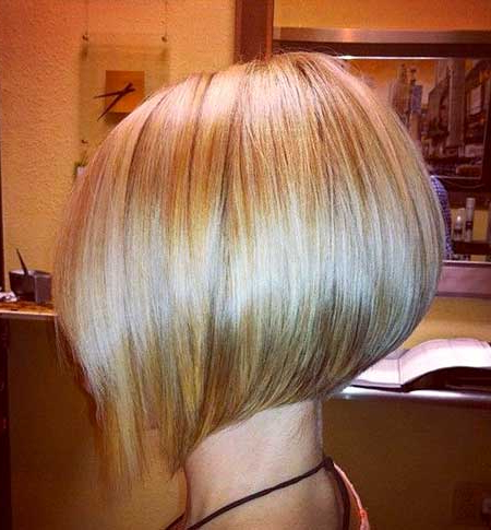 Short Blonde Haircuts For 2014 2015 | Short Hairstyles 2017 – 2018 Intended For Short Blonde Inverted Bob Haircuts (View 22 of 25)