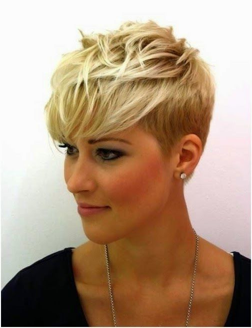 Short Blonde Hairstyles For Women | Hairstyles ~ Short | Pinterest With Regard To Messy Pixie Hairstyles For Short Hair (View 13 of 25)