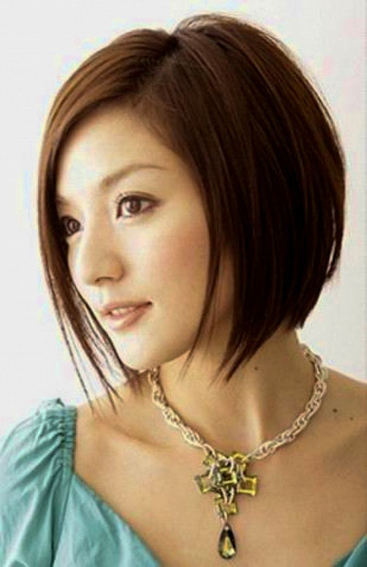 Short Bob Haircuts For Ladies | Hairstyles | Pinterest | Short Bobs Throughout Korean Short Bob Hairstyles (View 13 of 25)