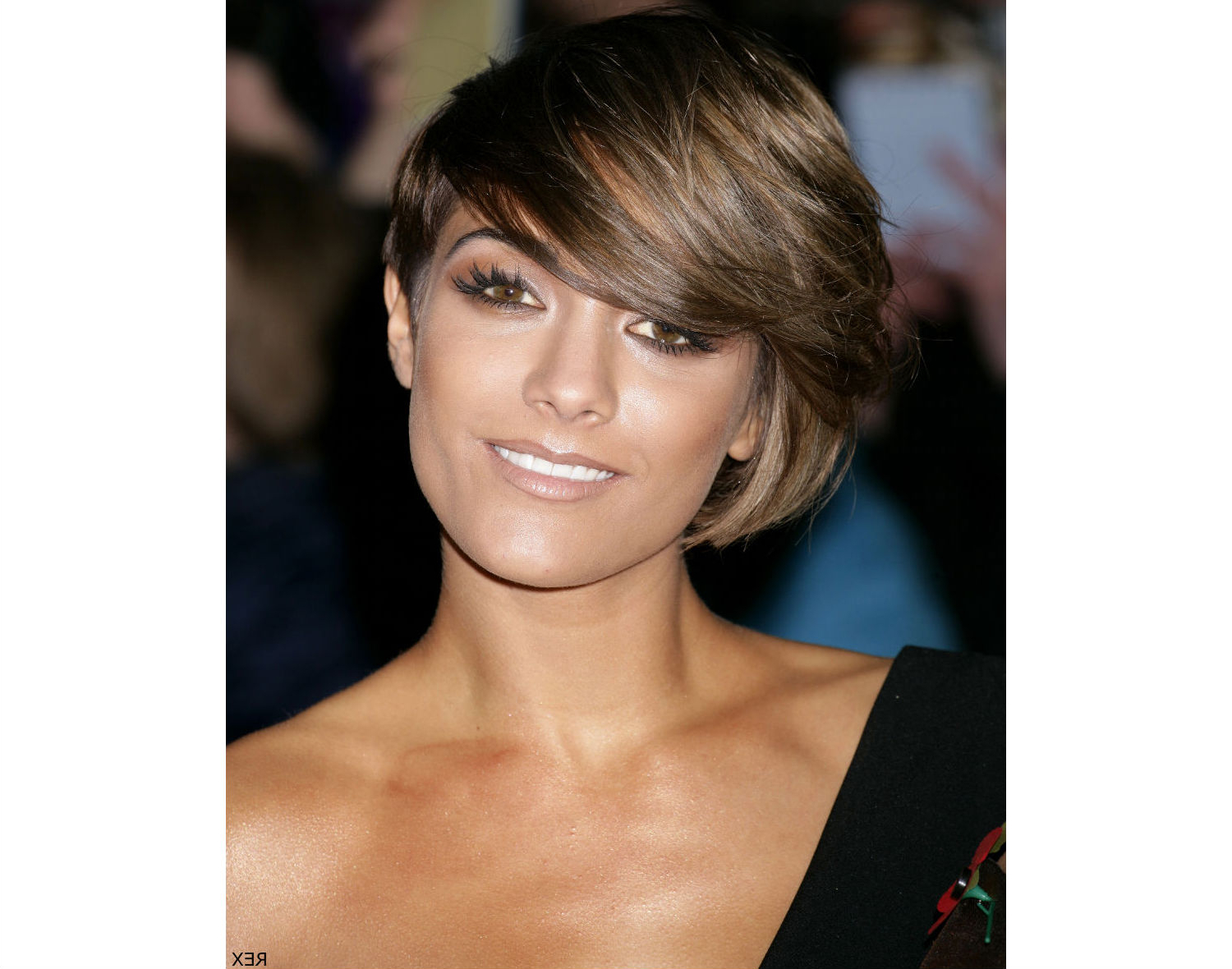 Short Bob Hairstyle For Round Face Regarding Bob Short Hairstyles For Black Women (View 16 of 25)