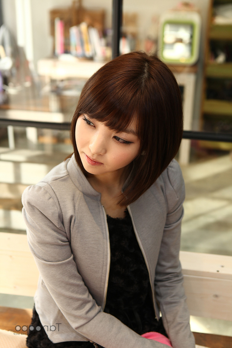 Short Bob Hairstyles For Women — The Brown Dog : Short Bob In Korean Short Bob Hairstyles (View 22 of 25)