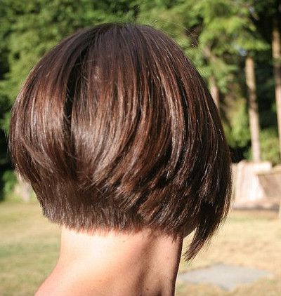 Featured Photo of Short Bob Hairstyles With Tapered Back