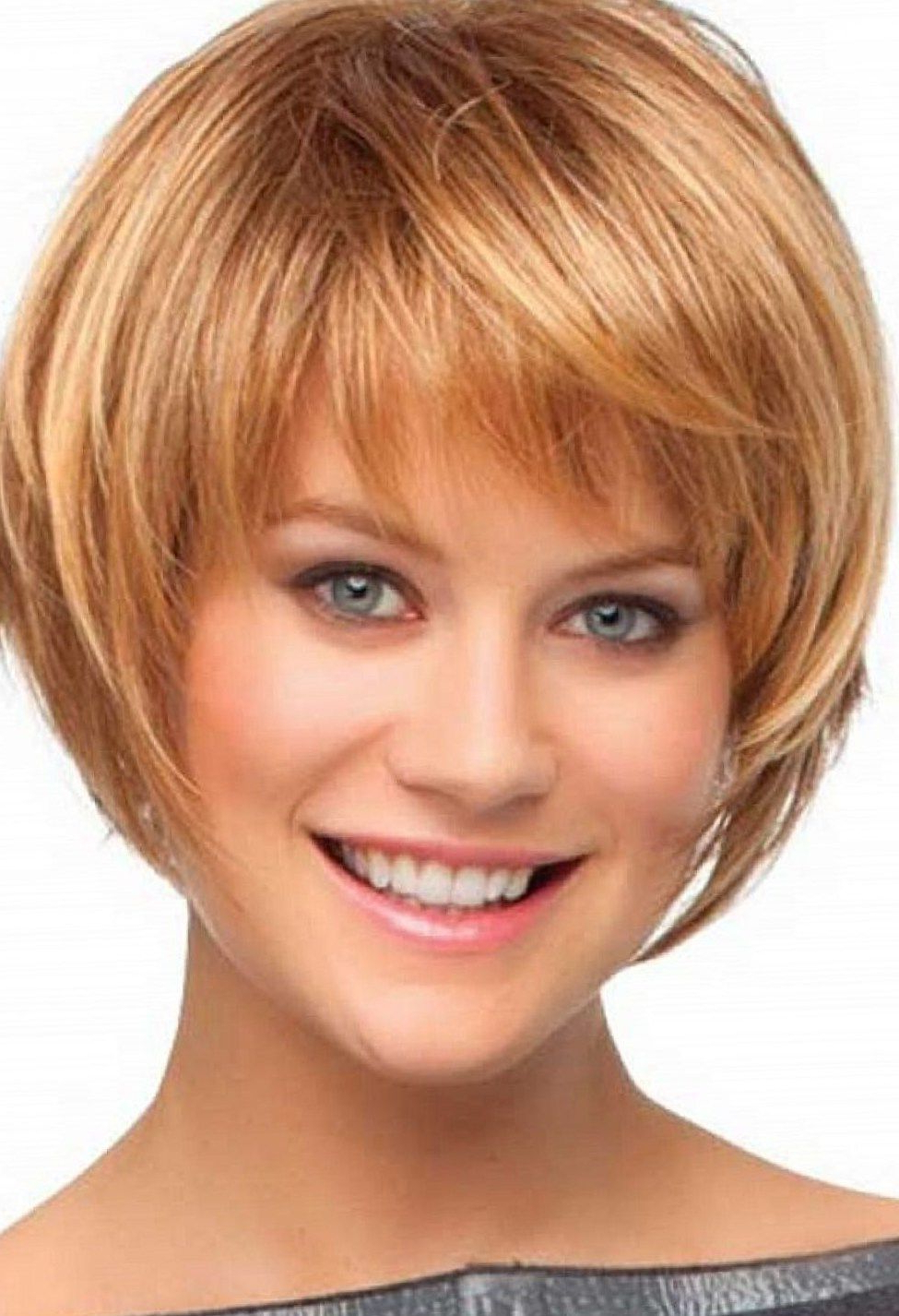 Short Bob Hairstyles With Bangs: 4 Perfect Ideas For You | Talk For Short Haircuts With Bangs And Layers (View 2 of 25)
