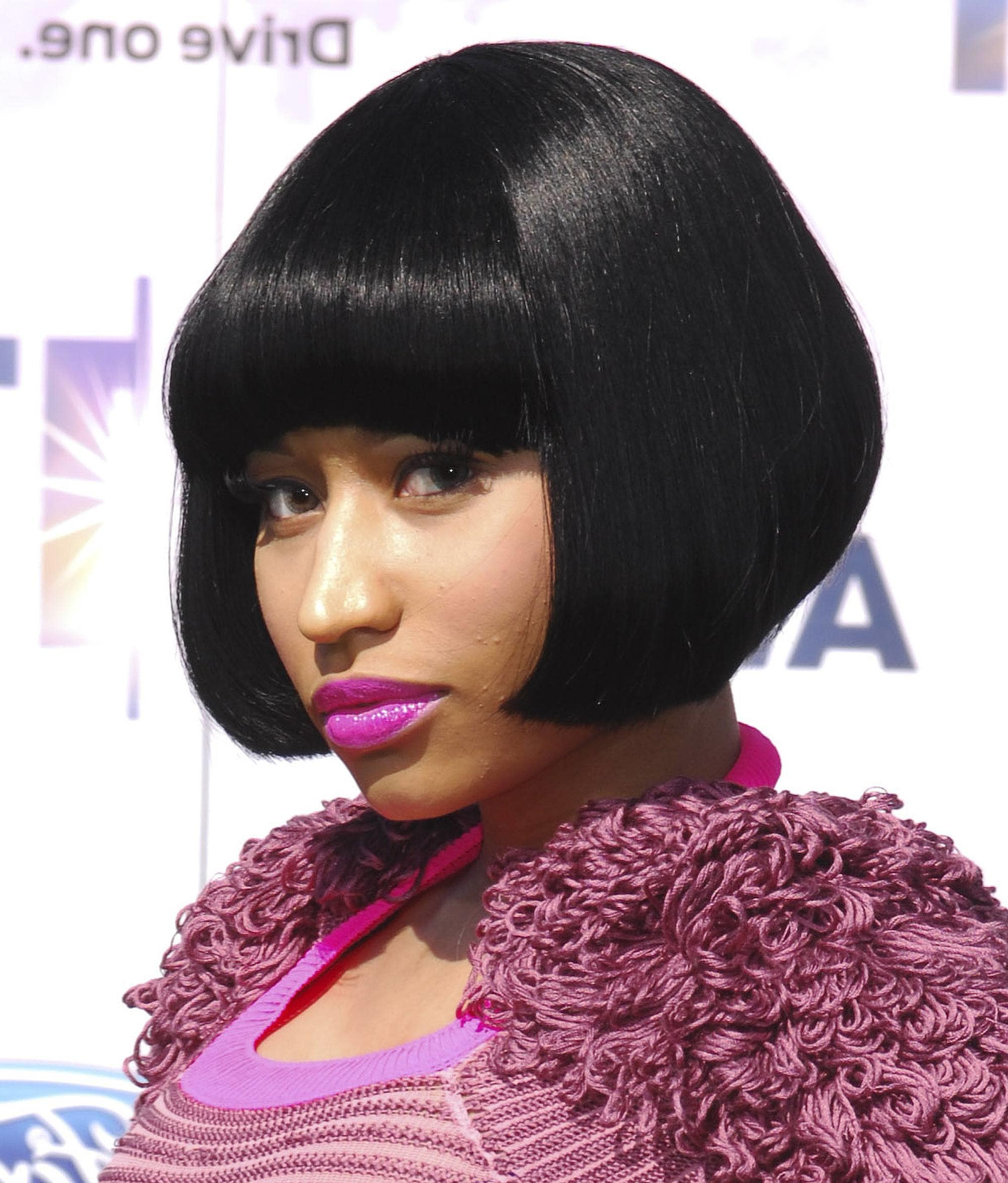 Short Bob With Bangs: See How The Stars Do It In Our Gallery | All Regarding Nicki Minaj Short Haircuts (View 21 of 25)