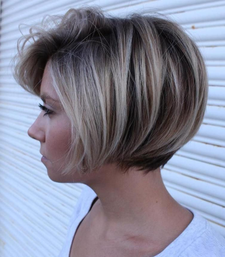 Short Bob With Dimensional Coloring #long&shorthairstyles | Hair throughout Short Bob Hairstyles With Dimensional Coloring
