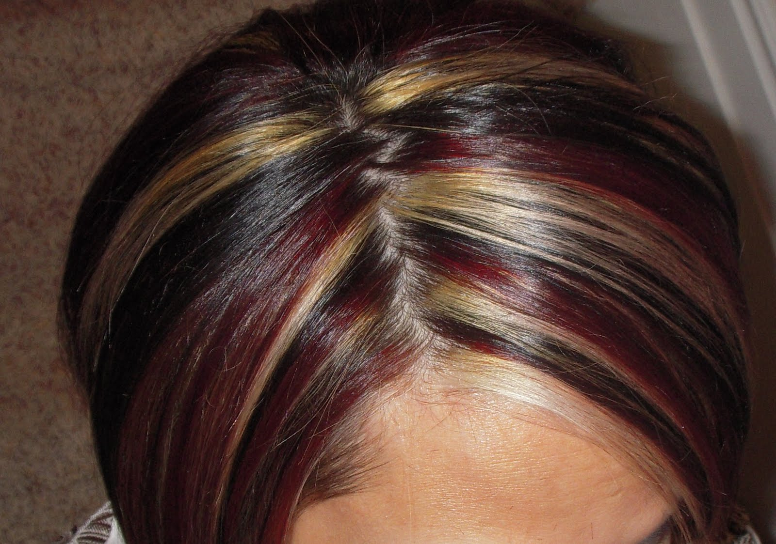 Short Brown Hair With Red Highlights – Hairstyle For Women & Man In Short Haircuts With Red And Blonde Highlights (View 13 of 25)