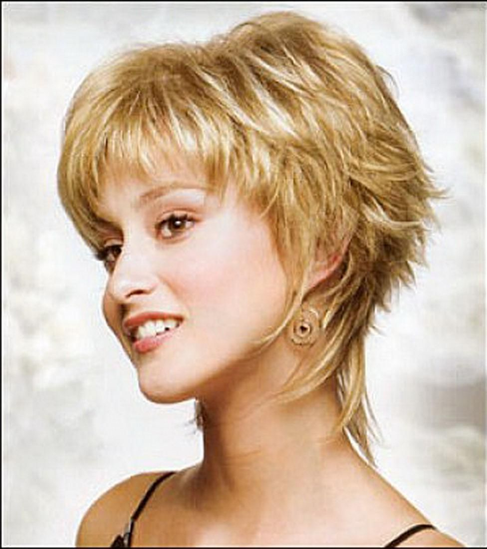 Short Choppy Hairstyles – Google Search | Fryz | Pinterest | Curly For Choppy Short Haircuts For Fine Hair (View 22 of 25)