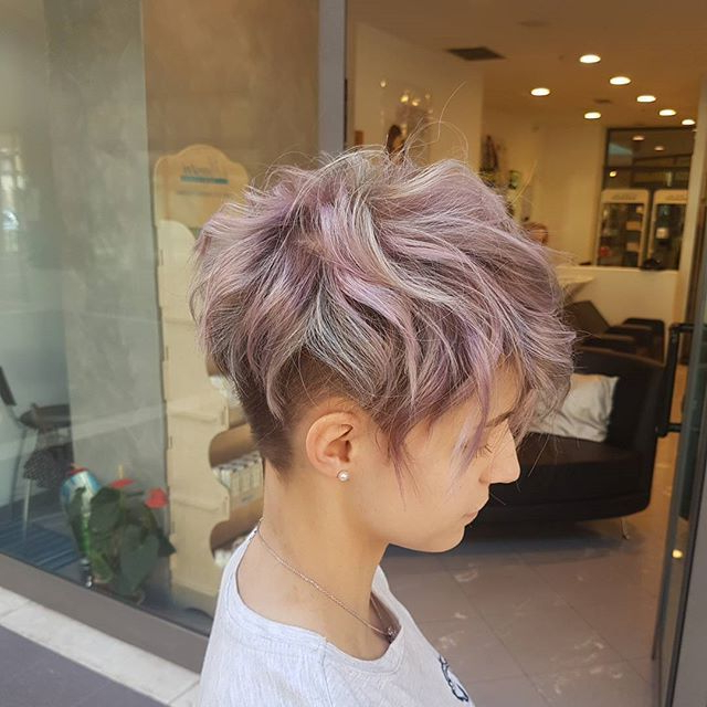 Featured Photo of Funky Pixie Undercut Hairstyles