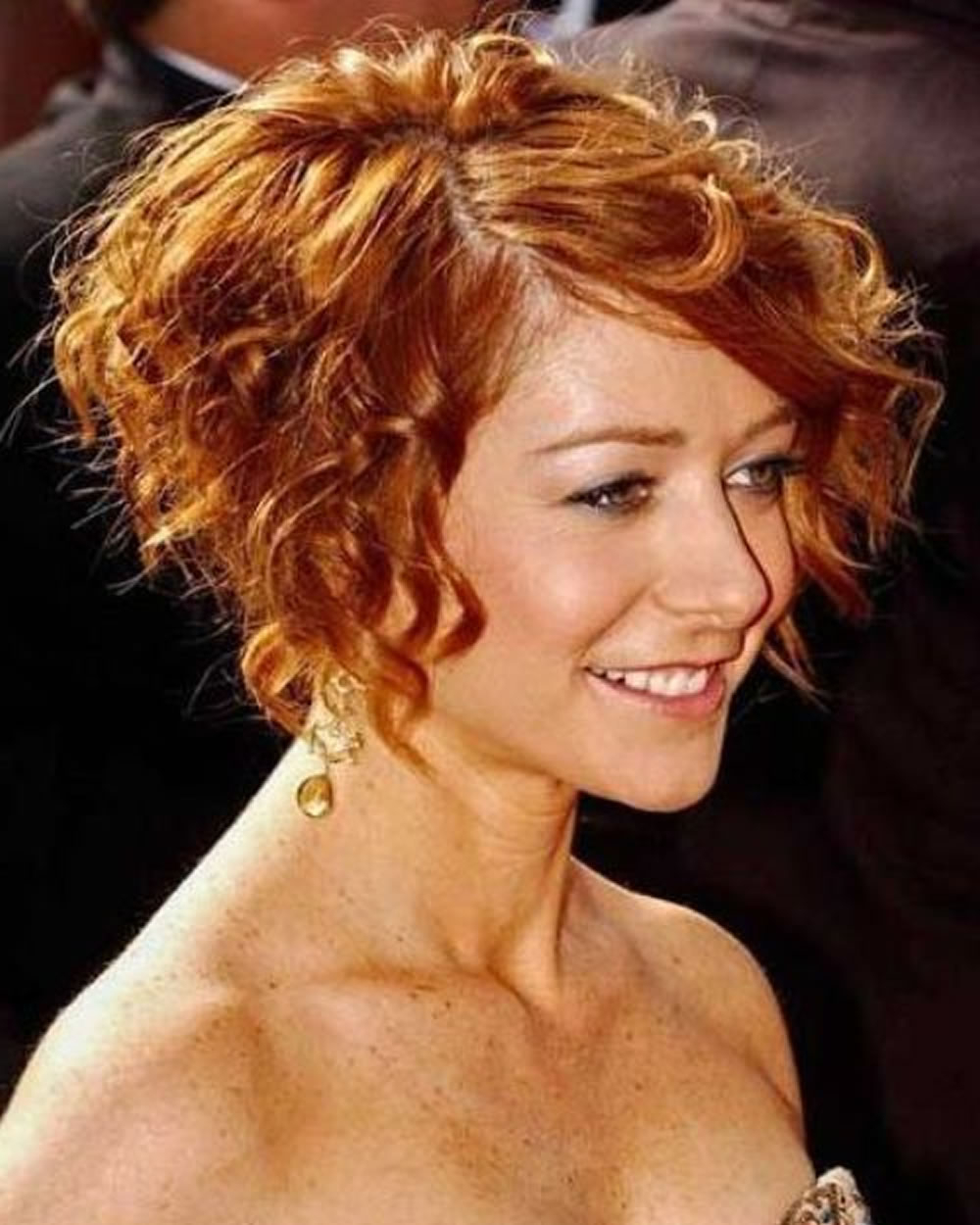 Short Curly Asymmetrical Bob Haircut For Fine Hair – Page 3 – Hairstyles In Hairstyles For Short Curly Fine Hair (View 18 of 25)