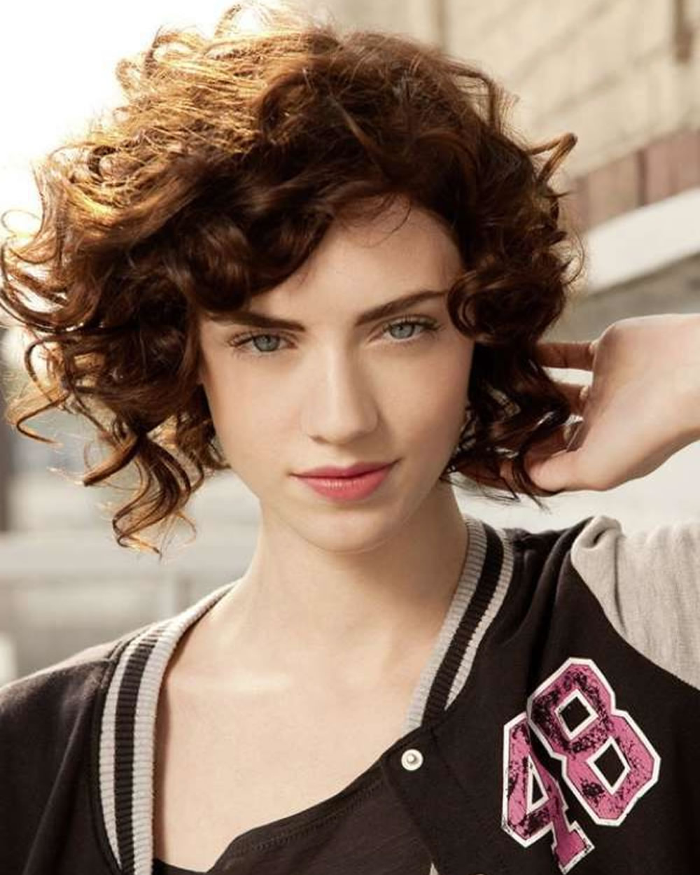 Short Curly Asymmetrical Bob Haircut For Fine Hair – Page 5 – Hairstyles Pertaining To Hairstyles For Short Curly Fine Hair (View 12 of 25)