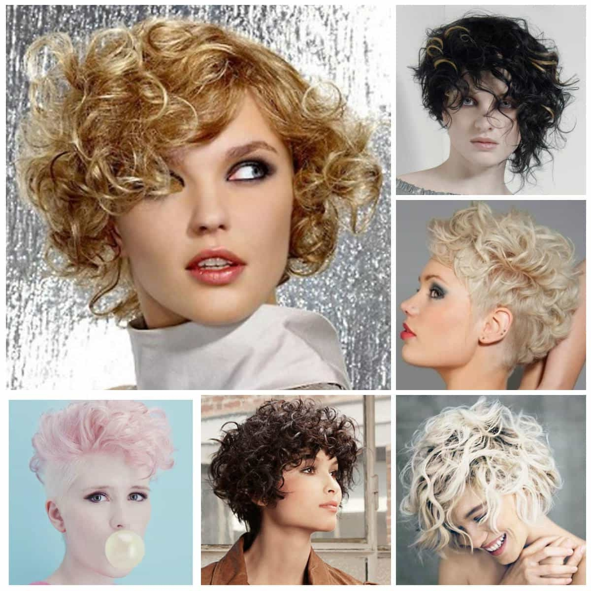 Short Curly Haircuts For Long Faces – Short And Cuts Hairstyles Throughout Trendy Short Curly Hairstyles (View 19 of 25)