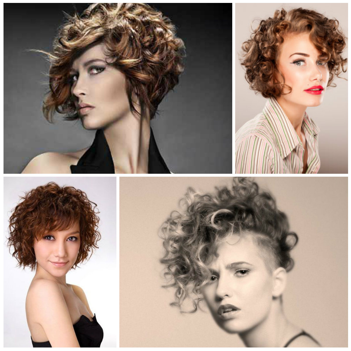 Short Curly Hairstyles 2017 – Leymatson Intended For Trendy Short Curly Hairstyles (View 5 of 25)