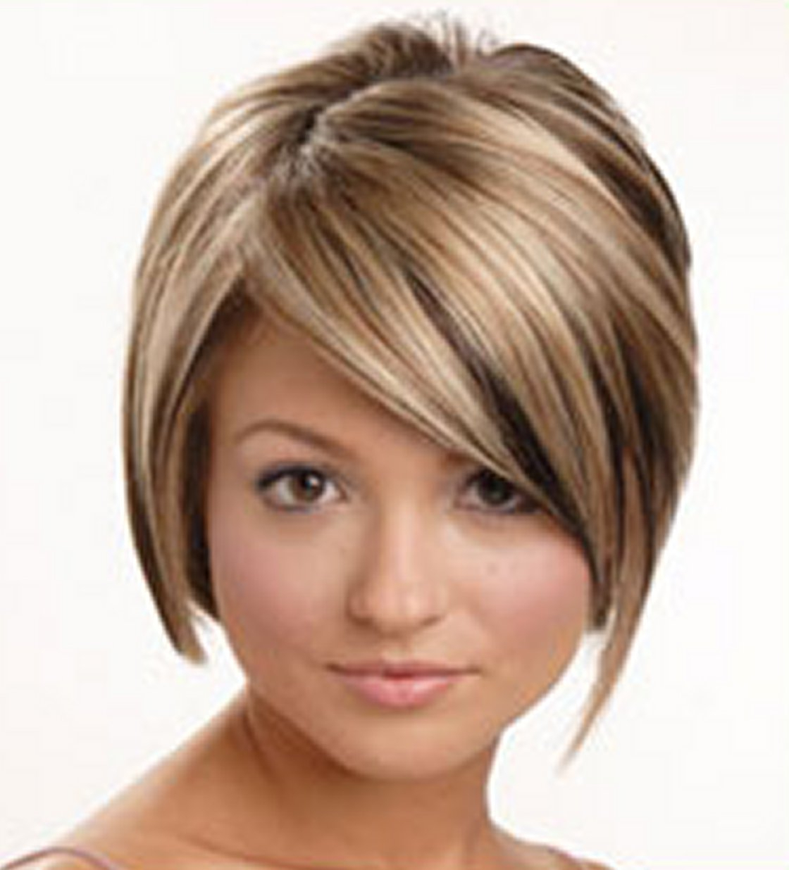 Short Curly Hairstyles For Round Faces | 1080P Hd Wallpaper For Medium Short Hairstyles Round Faces (View 17 of 25)