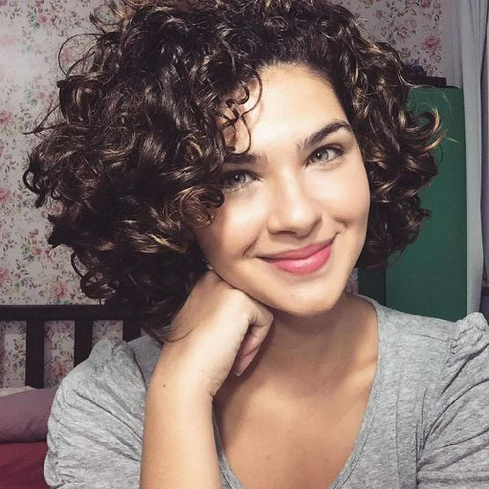 Short Curly Hairstyles For Women With Naturally Curly Curly Wavy With Naturally Curly Short Hairstyles (View 13 of 25)