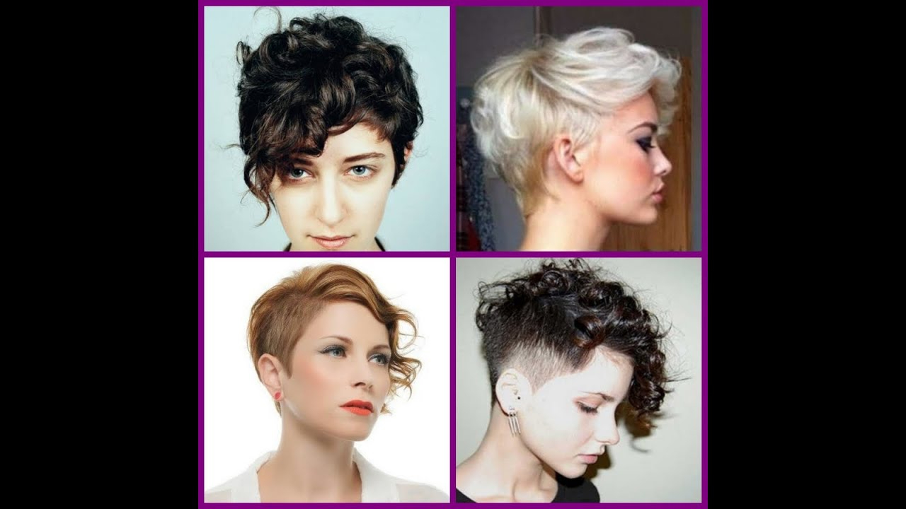 Short Curly Pixie Hairstyles – 20 Short Trendy Hairstyles 2016 – Youtube Inside Trendy Short Curly Hairstyles (View 3 of 25)