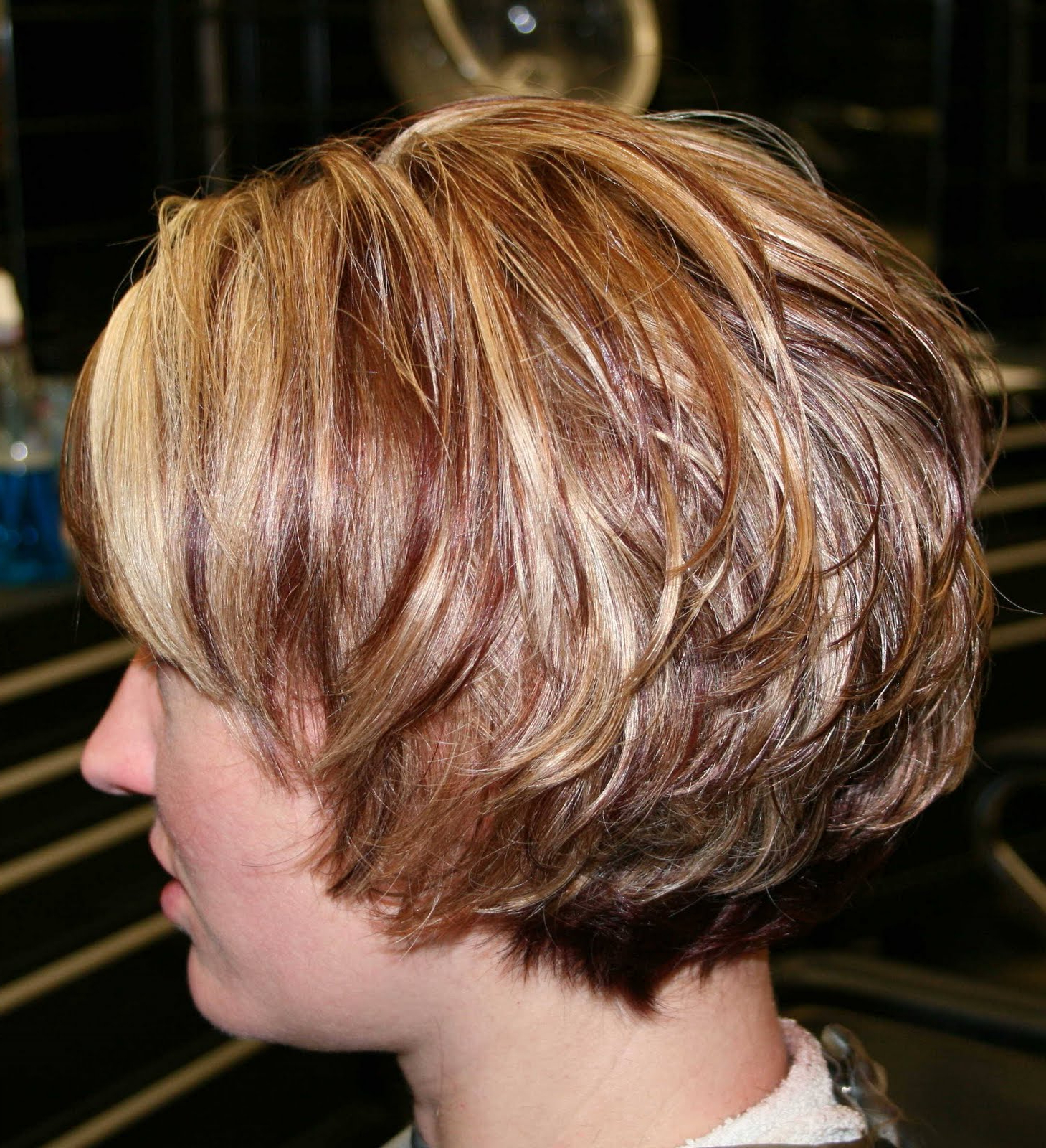 Short Curly Stacked Bob – Hairstyle For Women & Man In Stacked Curly Bob Hairstyles (View 11 of 25)
