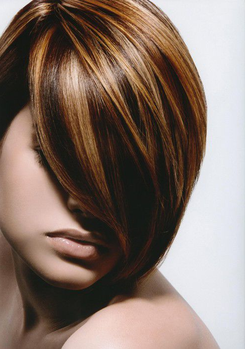 Short Dimensional Color Brunette – Salon York Pa – Indulge Salon In Short Bob Hairstyles With Dimensional Coloring (View 18 of 25)