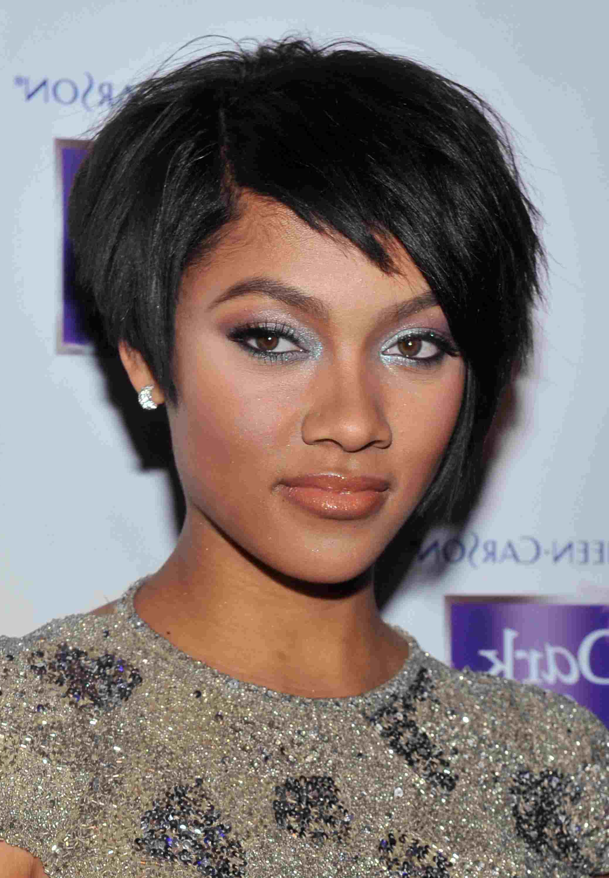 Short, Edgy Haircuts For Black Women Inside Edgy Short Haircuts For Black Women (View 23 of 25)