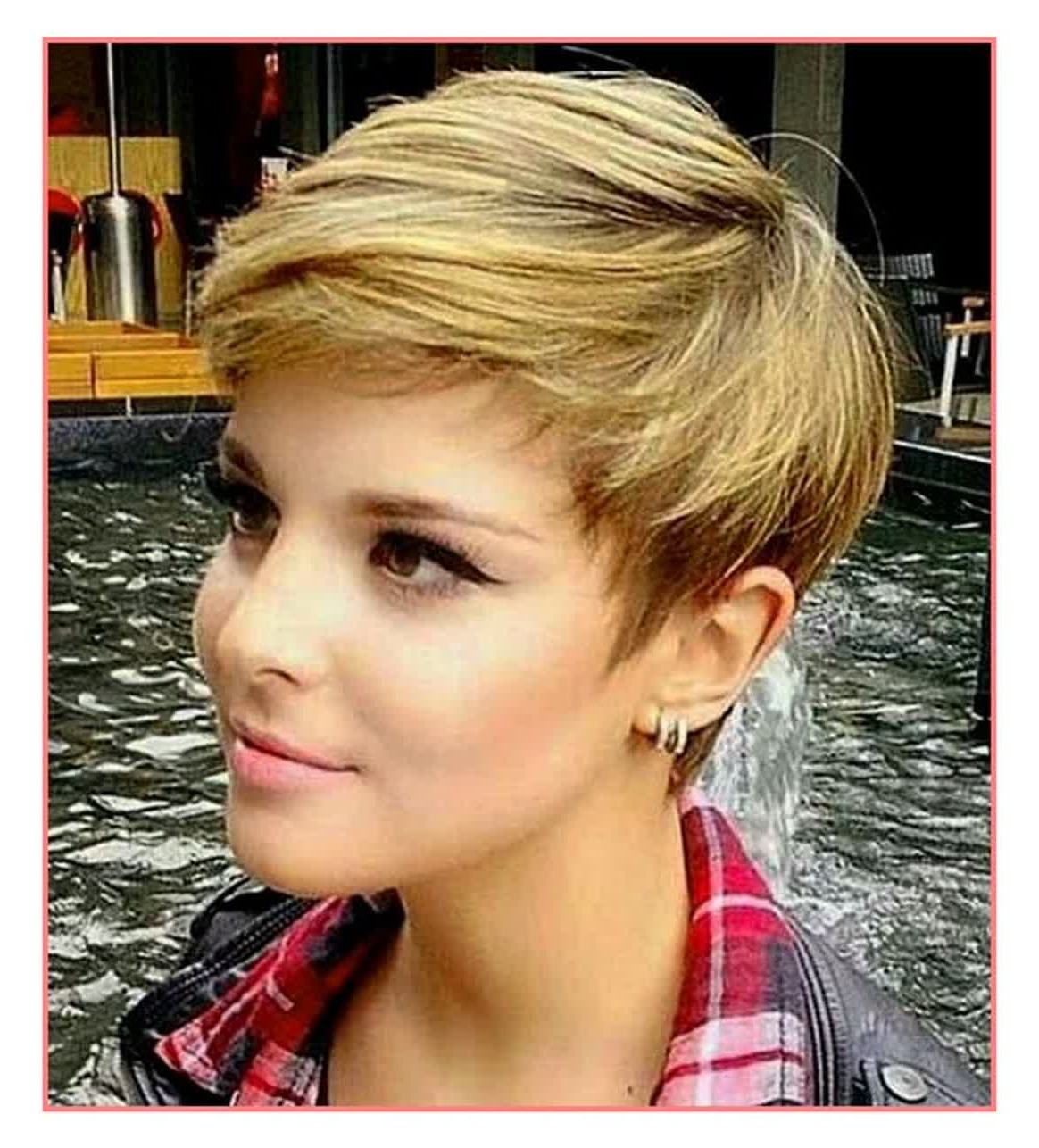 Short Feminine Hairstyles – Leymatson Inside Feminine Short Haircuts (View 14 of 25)