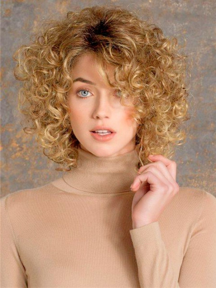 Short Fine Curly Hair Haircuts New Haircuts For Short Curly Hair In Short Fine Curly Hair Styles (View 2 of 25)