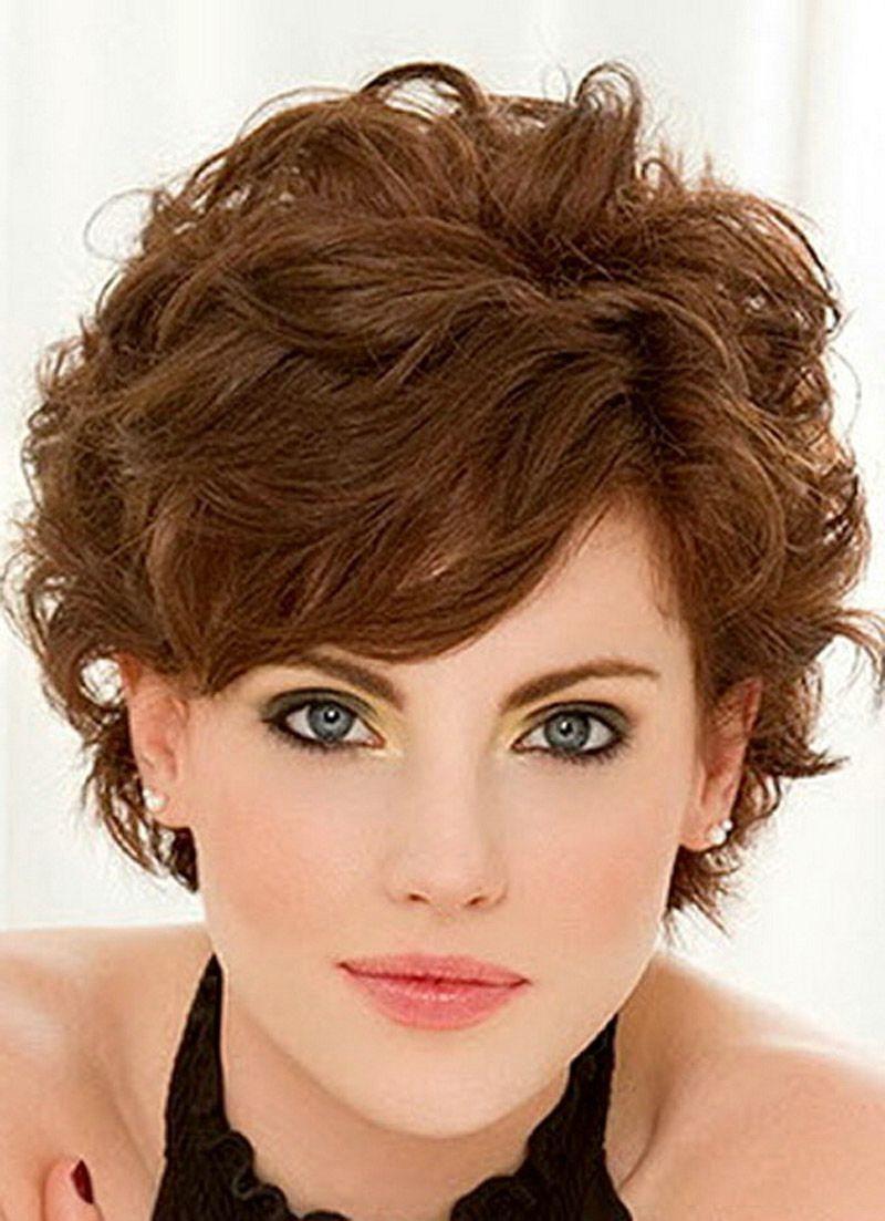 Short Fine Curly Hair Haircuts Short Hairstyles For Fine Wavy Hair For Short Haircuts For Very Curly Hair (View 6 of 25)