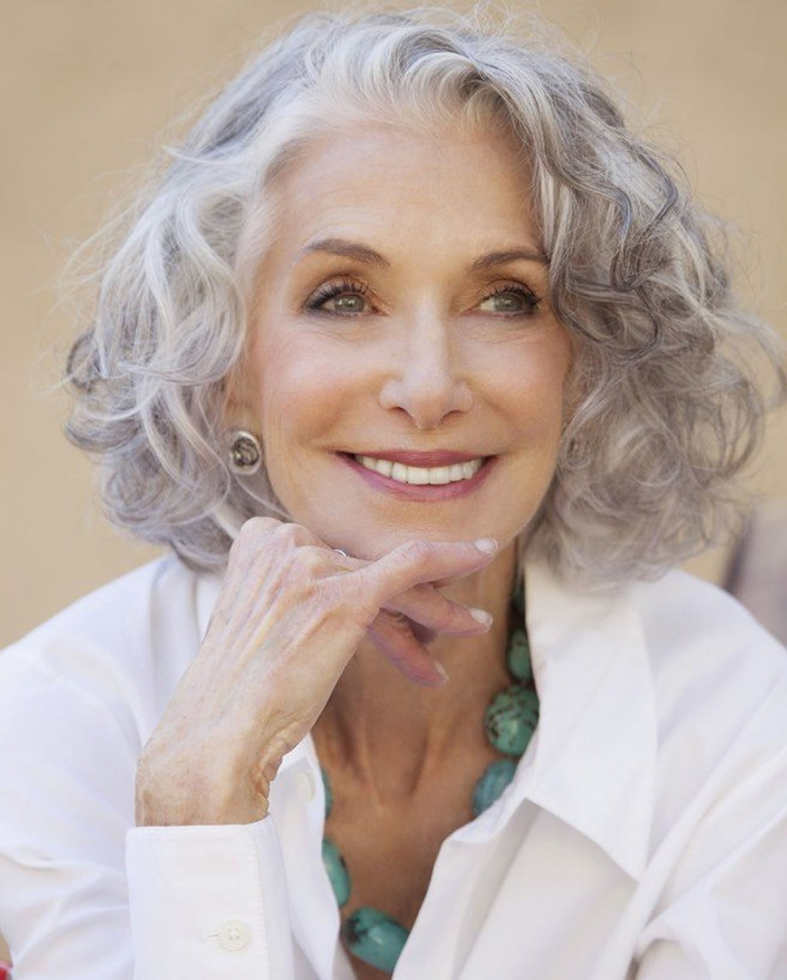 Short Gray Hairstyles For Older Women Over 50 – Gray Hair Colors For Short Haircuts With Gray Hair (View 3 of 25)