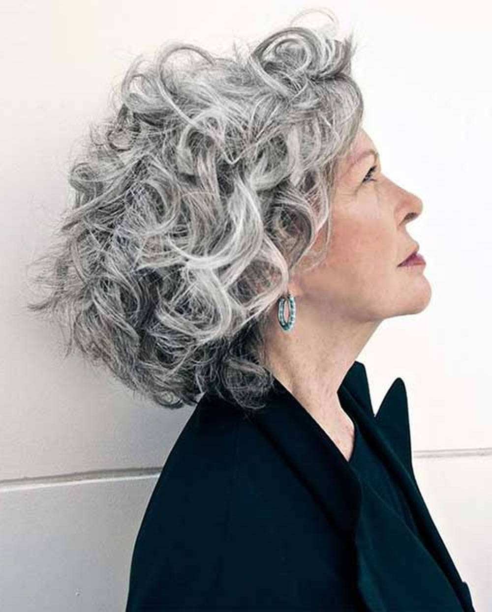 Short Gray Hairstyles For Older Women Over 50 – Gray Hair Colors Intended For Short Hairstyles For Salt And Pepper Hair (View 17 of 25)