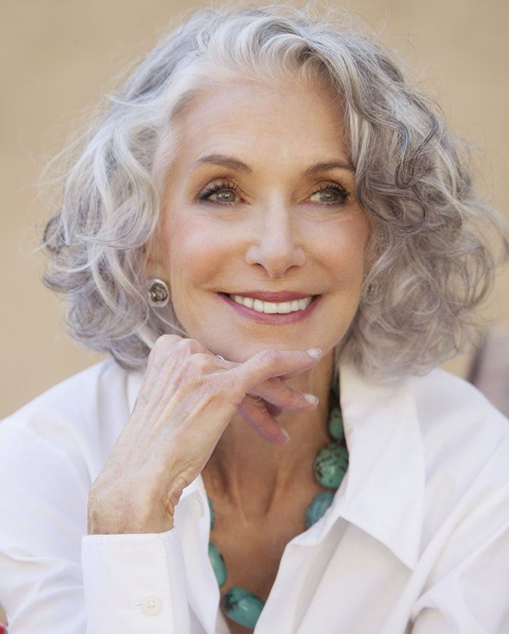 Short Gray Hairstyles For Older Women Over 50 – Gray Hair Colors Pertaining To Short Hairstyles For Women With Gray Hair (View 4 of 25)