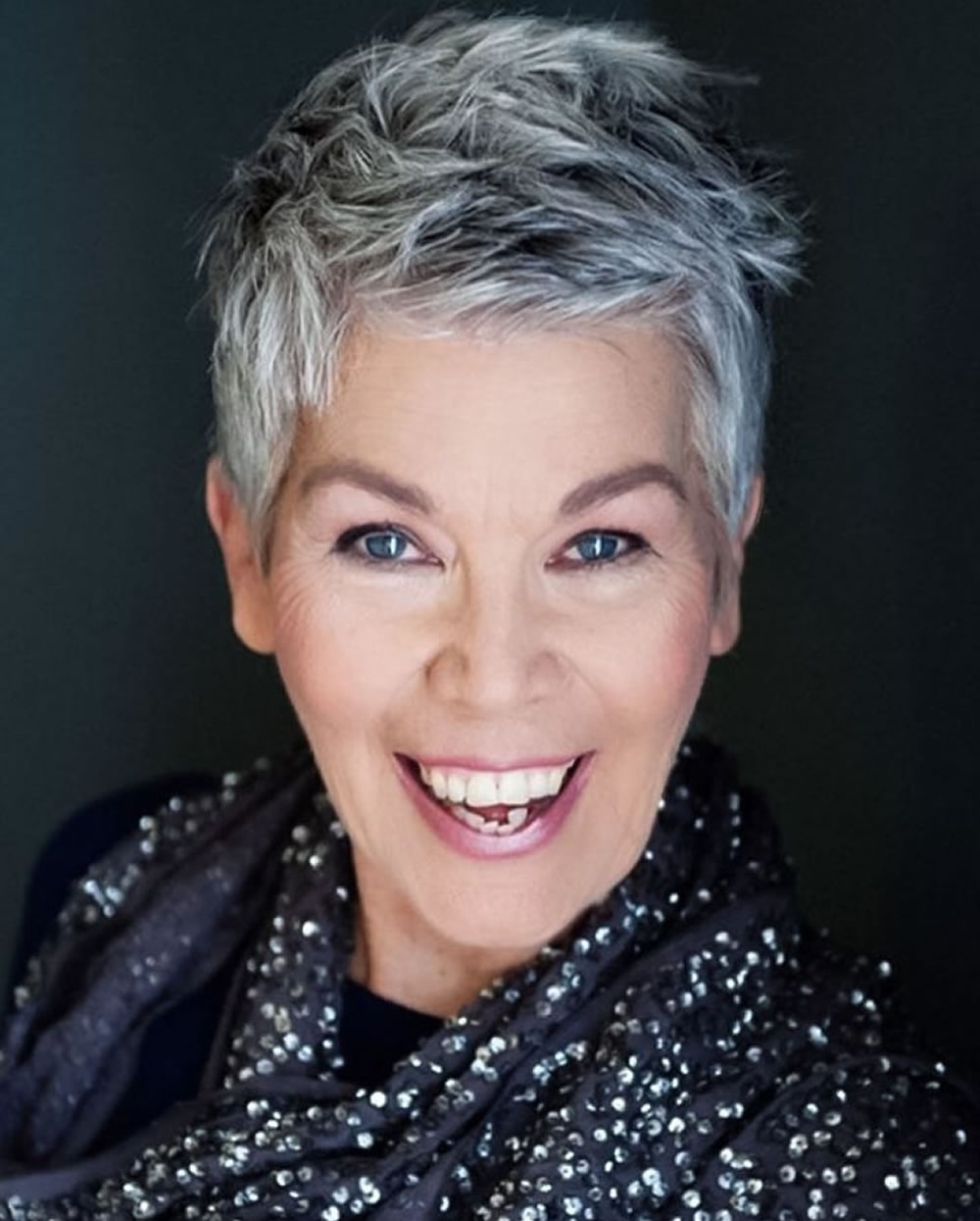 Short Gray Hairstyles For Older Women Over 50 – Gray Hair Colors Within Short Haircuts With Gray Hair (View 21 of 25)