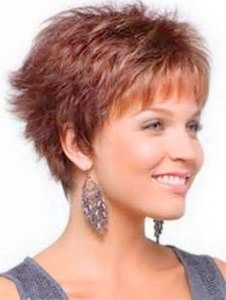 Short Grey Hairstyles For Women Over 50 In Addition Short Bob Throughout Best Short Haircuts For Over  (View 21 of 25)