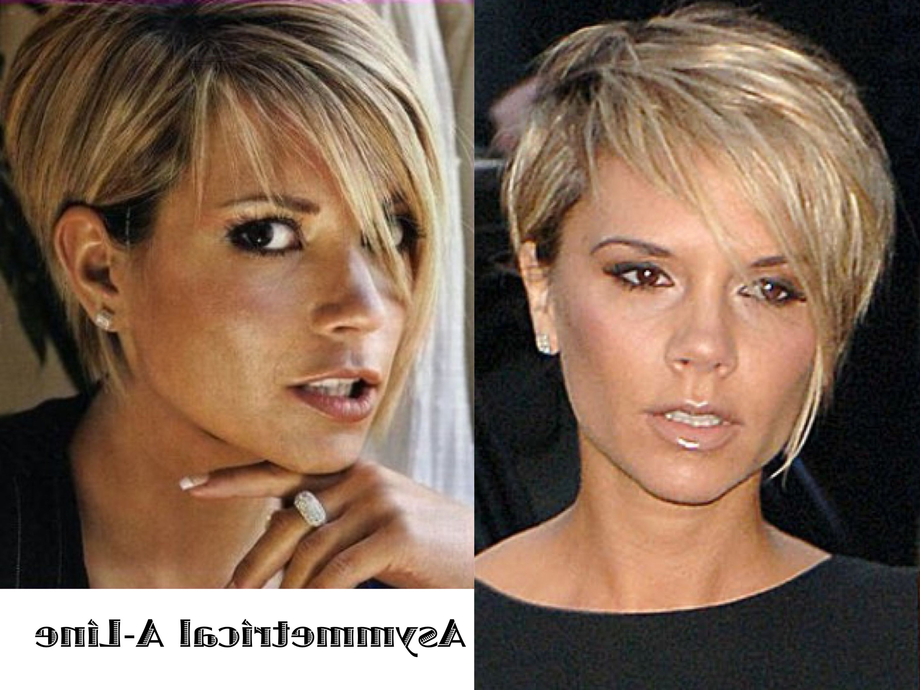 Short Hair A Line Victoria Beckham | .yes Please (View 7 of 25)