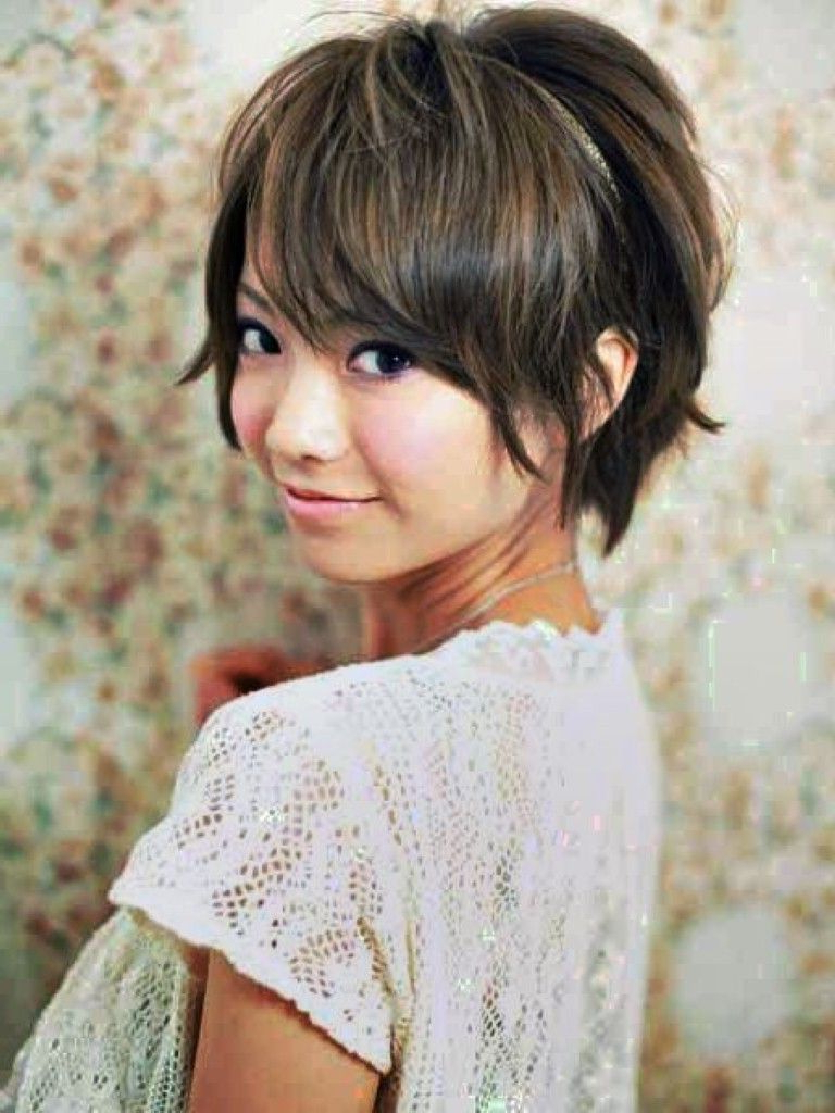 Featured Photo of Short Hairstyles For Asian Round Face