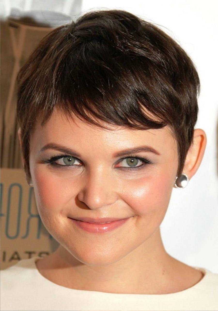 Short Hair For Round Faces | Galhairs Regarding Super Short Hairstyles For Round Faces (View 19 of 25)