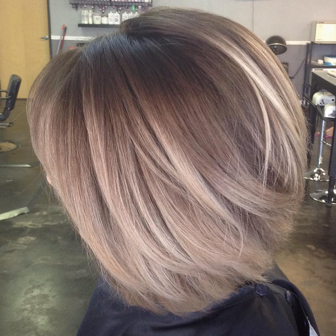 Short Hair Hair Color – Gallery Hairstyle Ideas Regarding Short Hairstyles With Balayage (View 24 of 25)