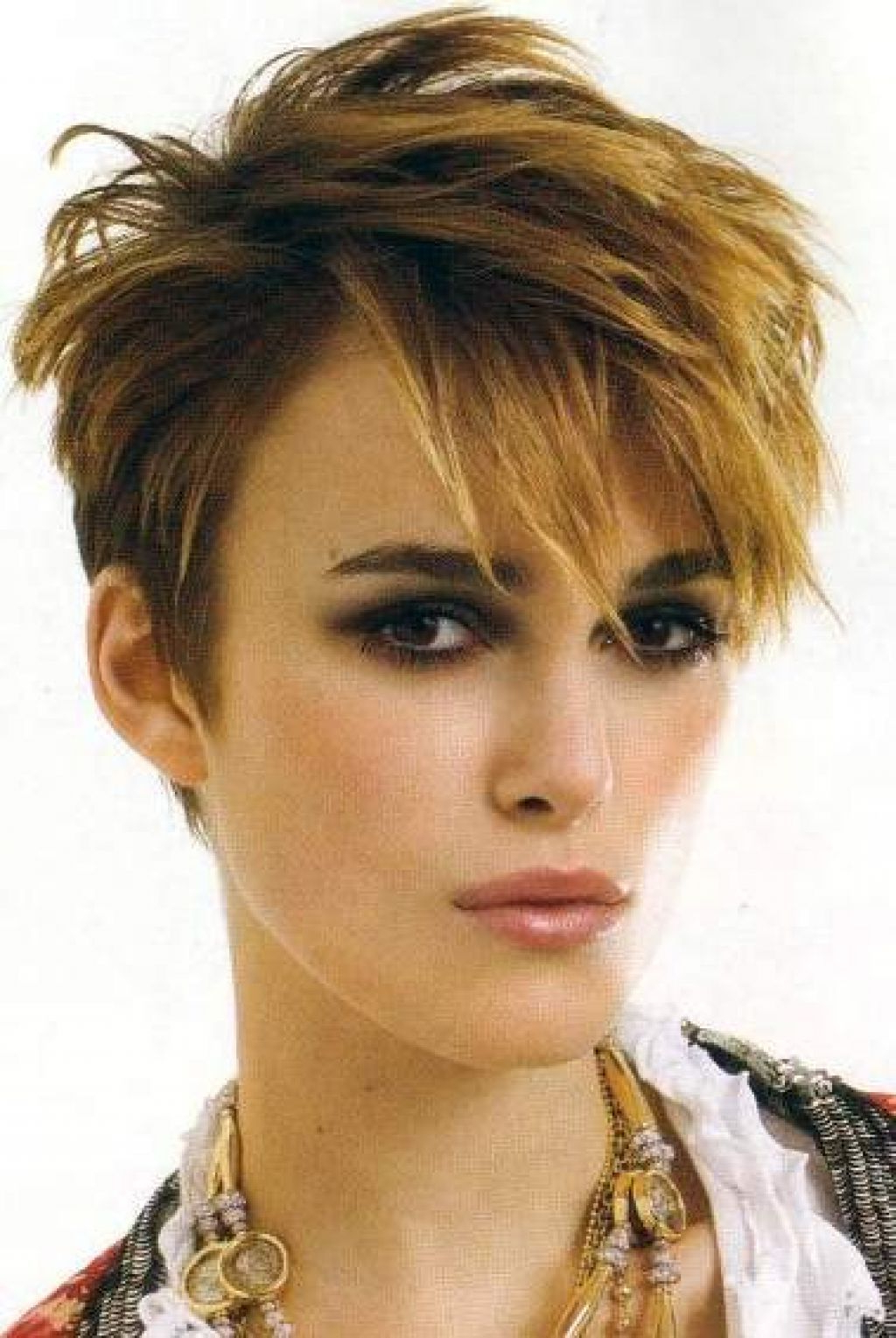 Short Hair Low Maintenance Hairstyles · Keira Knightley Short Hair For Keira Knightley Short Hairstyles (View 8 of 25)