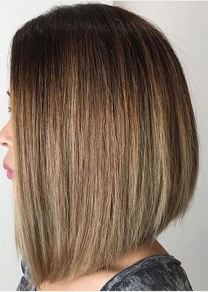 Short Hair – Mane Interest Inside Straight Textured Angled Bronde Bob Hairstyles (View 14 of 25)