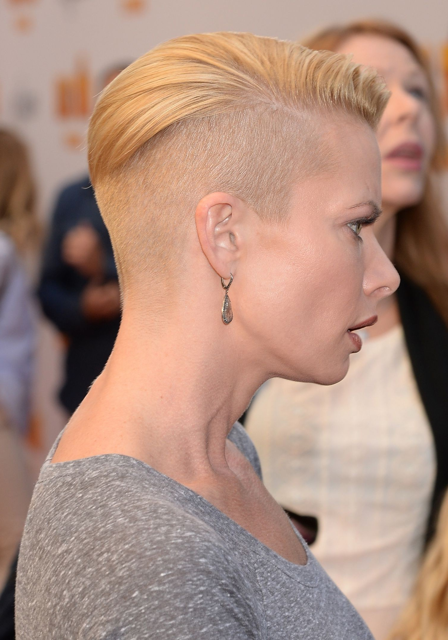 Short Hair Shaved Sides Hairstyle For Women Man Inside Short Haircuts With Shaved Sides (View 24 of 25)