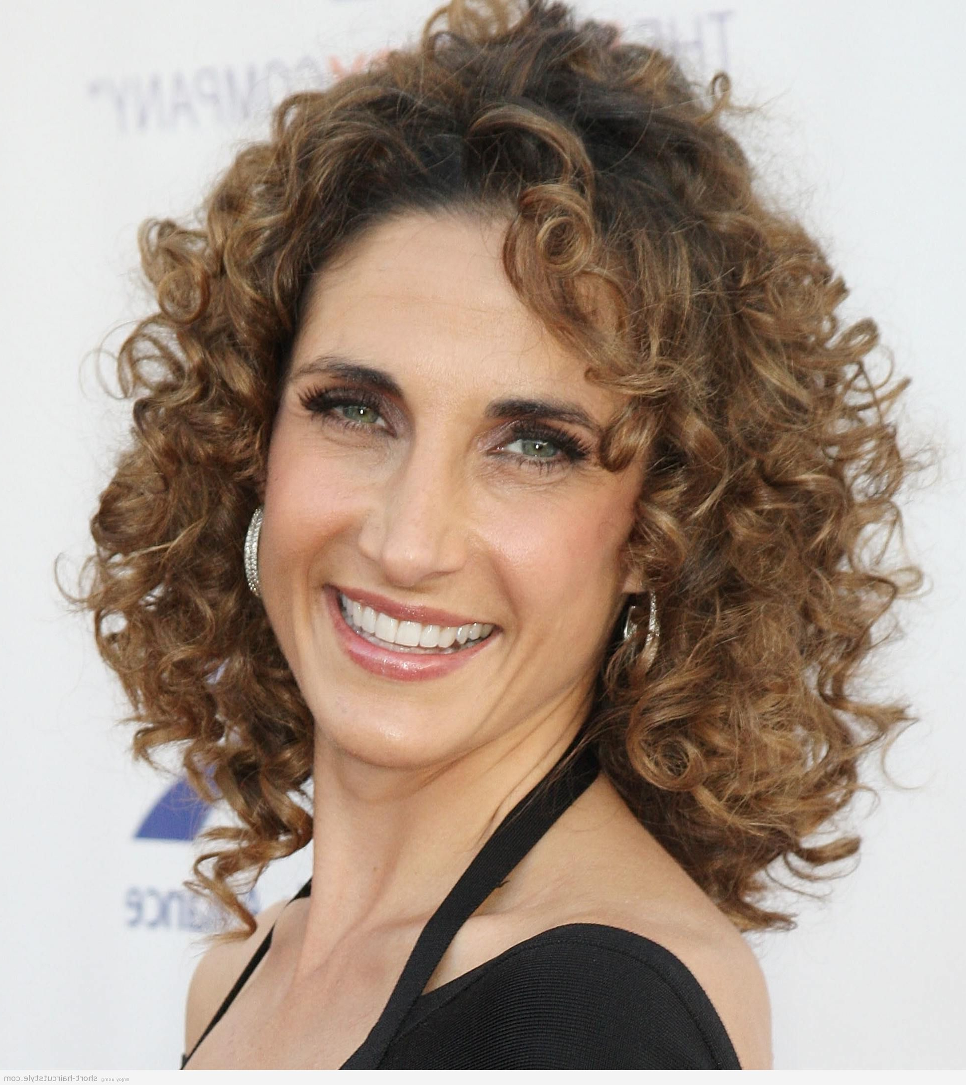 Short Hair Styles For Women Over 40   Short Curly Hairstyles For Within Short Curly Hairstyles For Over (View 4 of 25)